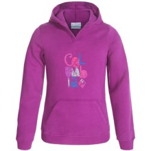 Columbia Sportswear Heart in the Hills Hoodie (For Little and Big Girls) in Bright Plum - Closeouts
