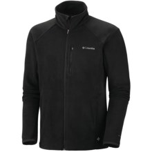 Columbia Sportswear Heat 360 II Omni-Heat® Fleece Jacket (For Big Men) in Black - Closeouts