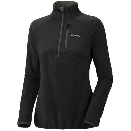 Columbia Sportswear Heat 360 II Omni-Heat® Jacket - Fleece, Zip Neck, Long Sleeve (For Women) in Black