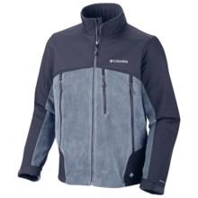 Columbia Sportswear Heat Elite Lite Omni-Heat® Jacket - Fleece (For Men) in Light Metal - Closeouts