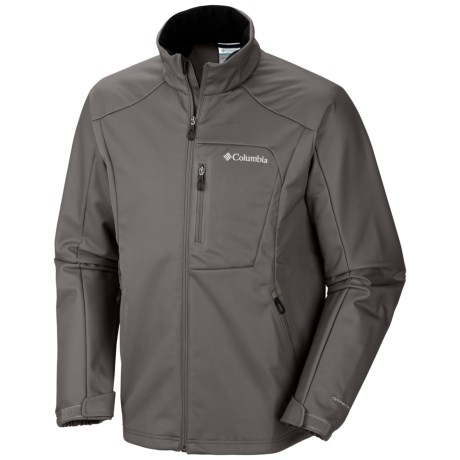 Columbia Sportswear Heat Mode Omni-Heat® Soft Shell Jacket (For Men) in Boulder