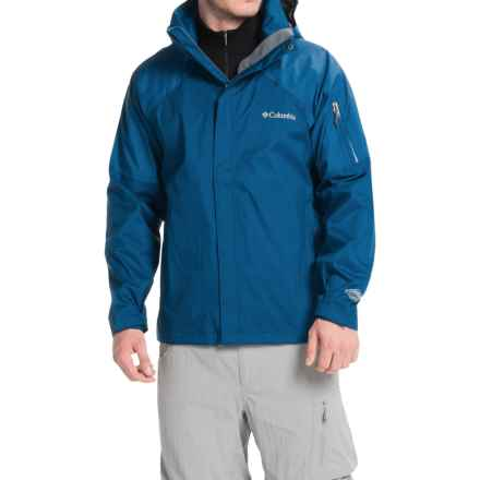 Columbia Sportswear Heater Change II Jacket - Waterproof (For Men) in Marine Blue - Closeouts