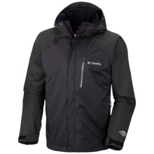 Columbia Sportswear Heater-Change Omni-Tech® Jacket - Waterproof (For Men) in Black Melange - Closeouts