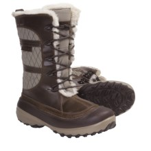 Columbia Sportswear Heather Canyon Omni-Heat® Winter Boots - Waterproof, Insulated (For Women) in Dune - Closeouts