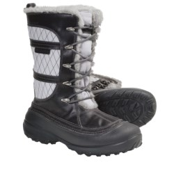 Columbia Sportswear Heather Canyon Omni-Heat® Winter Boots - Waterproof, Insulated (For Women) in Pewter