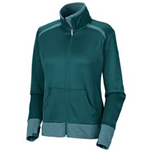 Columbia Sportswear Heather Honey Jacket (For Women) in Blue Forest - Closeouts