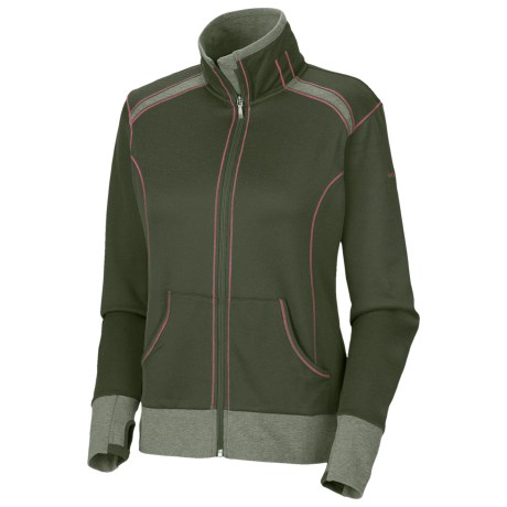 Columbia Sportswear Heather Honey Jacket (For Women) in Surplus Green Heather