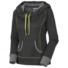 Columbia Sportswear Heather Honey Pullover - Long Sleeve (For Women) in Coal Heather - Closeouts