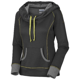 Columbia Sportswear Heather Honey Pullover - Long Sleeve (For Women) in Coal Heather
