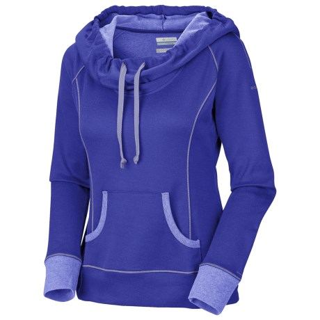 Columbia Sportswear Heather Honey Pullover - Long Sleeve (For Women) in Blue Forest