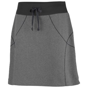 Columbia Sportswear Heather Honey Skirt (For Women) in Coal Heather