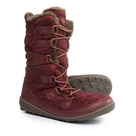 Columbia Sportswear Heavenly Chimera Omni-Heat® OutDry® Winter Boots - Waterproof, Insulated (For Women) in Red Element
