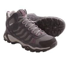 Columbia Sportswear Helvatia Mid Hiking Shoes - Waterproof (For Women) in Asphalt/Currant - Closeouts