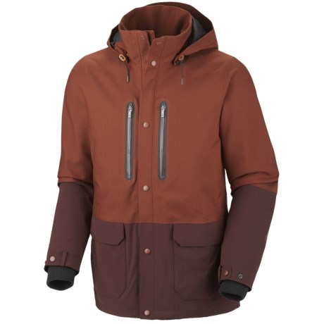 Columbia Sportswear Hemlock Road Omni-Tech® Jacket - Waterproof (For Men) in Brownstone