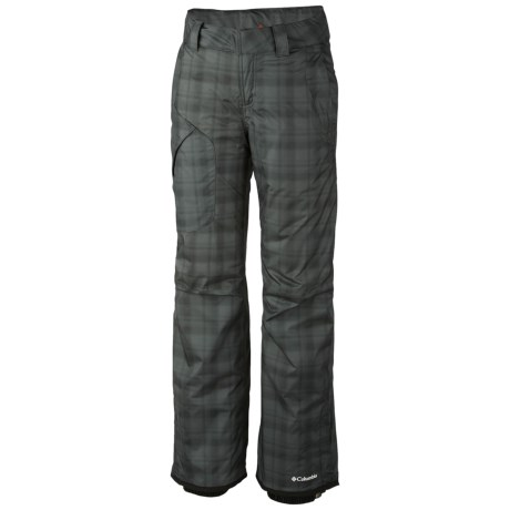 Columbia Sportswear High Volt Omni-Heat® Snow Pants - Waterproof, Insulated (For Women) in Black Printed Plaid