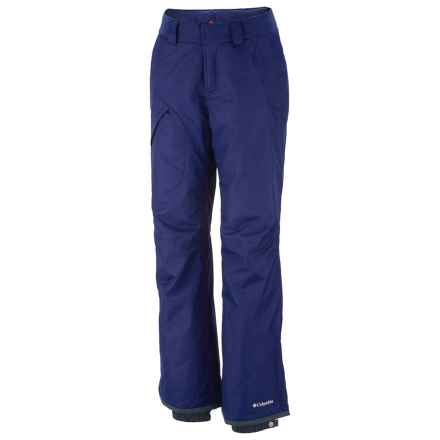 Columbia Sportswear High Volt Omni-Tech® Omni-Heat® Snow Pants - Waterproof (For Plus Size Women) in 432 Aristocrat - Closeouts