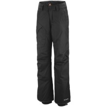Columbia Sportswear High Volt Omni-Tech® Omni-Heat® Snow Pants - Waterproof (For Plus Size Women) in Black - Closeouts