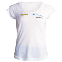 Columbia Sportswear Highroad Tech T-Shirt - UPF 15, Short Sleeve (For Women) in White - Closeouts