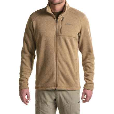 Columbia Sportswear Horizon Divide Fleece Jacket (For Men) in Delta Heather - Closeouts