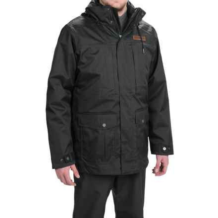 Columbia Sportswear Horizons Pine Interchange Omni-Heat® Jacket - Waterproof, Insulated, 3-in-1 (For Men) in Dark Moss/Dark Moss - Closeouts