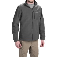 Columbia Sportswear Hot Dots II Omni-Heat® Jacket - Full Zip (For Men) in Charcoal Heather - Closeouts