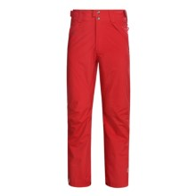 Columbia Sportswear Howling Wolf Pants - Insulated (For Men) in Red Alert - Closeouts