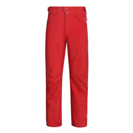 Columbia Sportswear Howling Wolf Pants - Insulated (For Men) in Red Alert