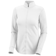 Columbia Sportswear I2O Fusion Jacket - UPF 50, Full Zip (For Plus Size Women) in 100 White - Closeouts