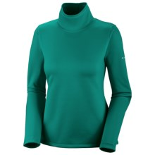 Columbia Sportswear I2O Fusion Turtleneck - Long Sleeve (For Women) in Emerald - Closeouts