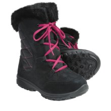 Columbia Sportswear Ice Maiden Winter Boots - Insulated (For Youth Girls) in Black/Bright Rose - Closeouts