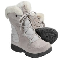 Columbia Sportswear Ice Maiden Winter Boots - Insulated (For Youth Girls) in Fawn/Daybreak - Closeouts