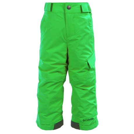 Columbia Sportswear Ice Slope II Snow Pants - Insulated (For Toddlers) in Green Mamba