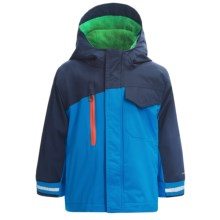 Columbia Sportswear Ice Slope Omni-Shield® Jacket - 3-in-1 (For Little Boys) in Compass Blue - Closeouts