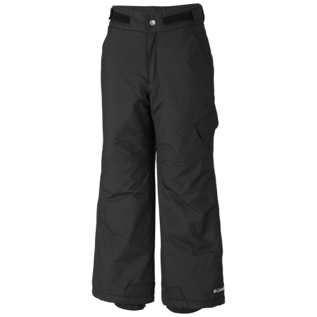 Columbia Sportswear Ice Slope Snow Pants - Insulated (For Toddlers) in Black
