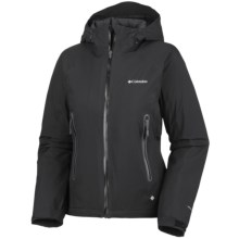 Columbia Sportswear In the Light Omni-Dry® Omni-Heat® Jacket - Waterproof (For Women) in Black - Closeouts