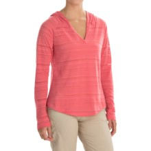 Columbia Sportswear Inner Luminosity Hoodie (For Women) in Coral Bloom - Closeouts