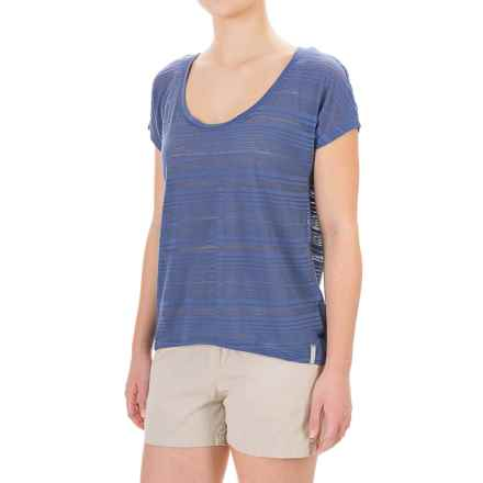 Columbia Sportswear Inner Luminosity II Hi-Lo Shirt - Short Sleeve (For Women) in Bluebell - Closeouts
