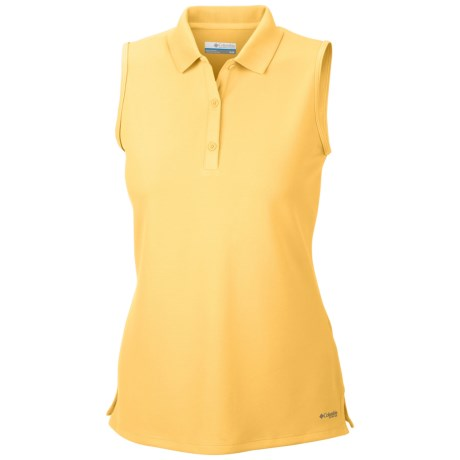 Columbia Sportswear Innisfree Polo Shirt - UFP 50, Sleeveless (For Women) in Sunlit