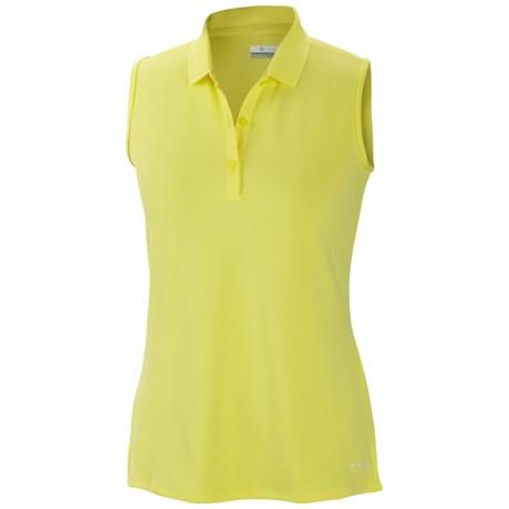 Columbia Sportswear Innisfree Polo Shirt - UFP 50, Sleeveless (For Women) in Sunnyside