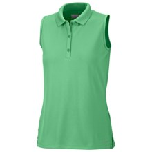 Columbia Sportswear Innisfree Polo Shirt - UFP 50, Sleeveless (For Women) in Winter Green - Closeouts