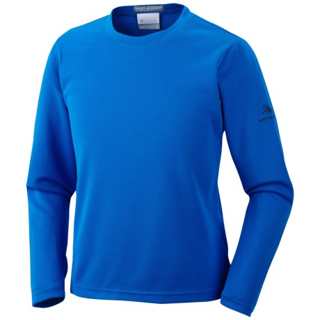 Columbia Sportswear Insect Blocker® II Shirt - UPF 50, Double Knit, Long Sleeve (For Youth) in Hyper Blue