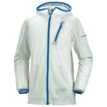 Columbia Sportswear Insect Blocker® Mesh Hoodie Jacket (For Youth) in Ice Grey - Closeouts