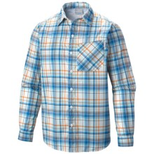 Columbia Sportswear Insect Blocker® Plaid Shirt - UPF 30, Long Sleeve (For Men) in Hyper Blue - Closeouts