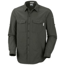 Columbia Sportswear Insect Blocker® Shirt - UPF 50, Long Sleeve (For Men) in Gravel - Closeouts