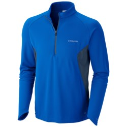 Columbia Sportswear Insect Blocker® Shirt - UPF 50, Zip Neck, Long Sleeve (For Men) in White
