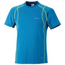 Columbia Sportswear Insect Blocker Sporty Shirt - UPF 50, Short Sleeve (For Men) in Compass Blue - Closeouts