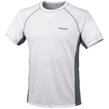 Columbia Sportswear Insight Ice Crew Shirt - UPF 15, Short Sleeve (For Men) in White - Closeouts