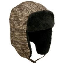 Columbia Sportswear Internunico Ear Flap Hat (For Men) in Burlap Print - Closeouts