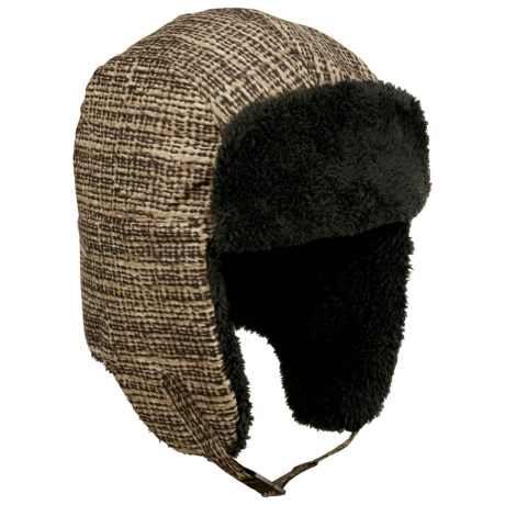 Columbia Sportswear Internunico Ear Flap Hat (For Men) in Burlap Print