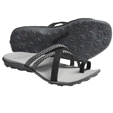 Columbia Sportswear Isla Sandals - Leather (For Women) in Geyser/Black